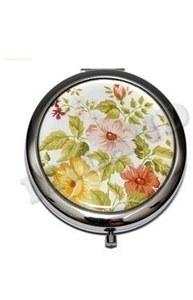 """Компактное зеркало """"Цветущий сад"""" (прозрачный пакетик) З-4614"""