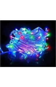 Гирлянда 200 ламп/15 м., 8 режимов (белый провод)