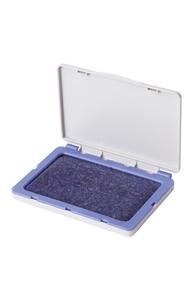 Подушка штемпельная синяя (120*90мм.) (рабочая поверхность 110х70 мм) синяя краска