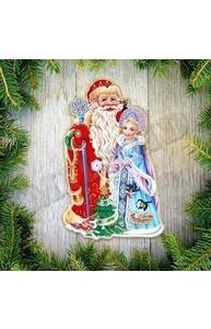 Плакат оформительский НГ.Рождественская сказка, 45 см, на скотче  НУ-4286