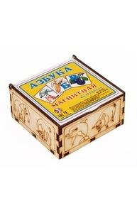 Магнитная азбука в картинках в коробке (дерево) арт.К-0554