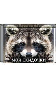 """Футляр для бонусных и кредитных карт """"Мои скидочки""""  51.54.649"""