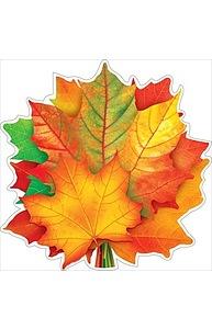 """Плакат фигурный Мини Осень.""""Букет кленовых листьев"""" на скотче  88.390"""