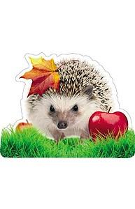 Плакат фигурный Мини Осень.Ёж    10-10.02-0027