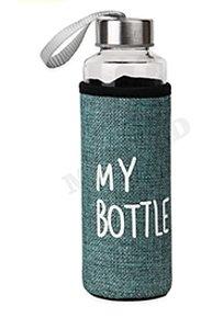 Бутылка для воды, в чехле My bottle, 300 мл, бирюзовый УД-6411
