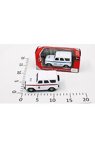 Модель УАЗ спецслужбы МЧС/ППС ,инерц в коробке №1501-194