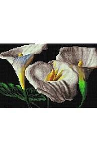 Алмазная мозаика 20х30см Каллы UD138