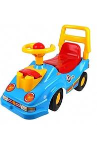 Машина-каталка с телефоном синяя Т2490Син