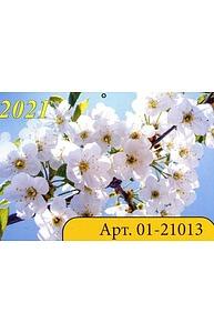 Календарь 2021 квартальный (315*640) Весна  01-21013